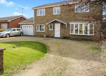 Thumbnail 4 bedroom detached house for sale in Woolram Wygate, Spalding
