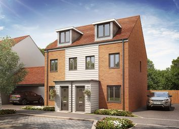 "Thumbnail 3 bed semi-detached house for sale in ""The Souter "" at Hobbs Cross Road, Harlow"