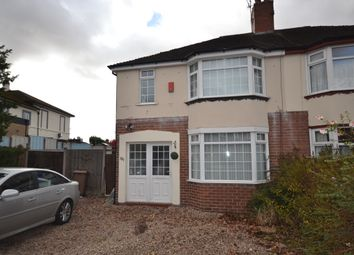Thumbnail 3 bed semi-detached house to rent in Newcastle Road, Trent Vale, Stoke-On-Trent