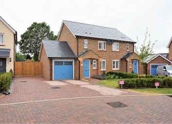 Thumbnail 2 bed semi-detached house for sale in Wisden Walk, Henfield