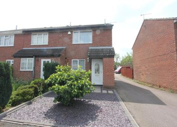 Thumbnail 2 bed town house for sale in Grange Drive, Burbage, Hinckley