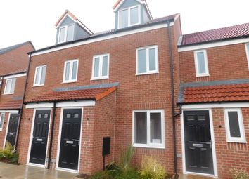 Thumbnail 3 bed town house to rent in Ward Road, Clipstone Village, Mansfield
