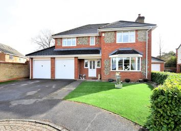 Thumbnail 4 bed detached house for sale in Ridgewood Drive, Frimley, Camberley, Surrey