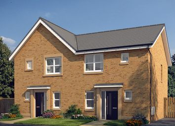 "Thumbnail 3 bed semi-detached house for sale in ""The Hamilton"" at Cochrina Place, Rosewell"