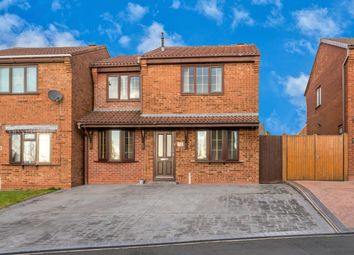 Thumbnail 3 bed detached house for sale in Stone Pine Close, Hednesford, Cannock