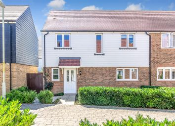 Thumbnail 4 bed semi-detached house for sale in Rutledge Avenue, Kingsnorth, Ashford