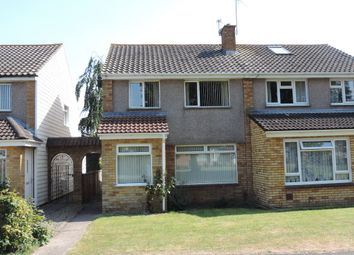 Thumbnail 3 bed semi-detached house for sale in Thurlestone, Whitchurch, Bristol
