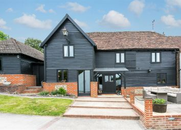 Thumbnail 5 bed detached house for sale in Valley Road, Fawkham, Longfield