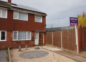 Thumbnail 3 bed semi-detached house for sale in Chadswell Heights, Lichfield