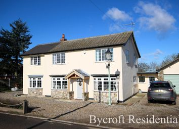 Thumbnail 4 bed detached house for sale in Martham Road, West Somerton, Great Yarmouth