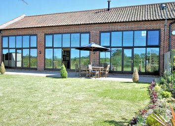 Thumbnail 4 bed barn conversion for sale in Lynn Road, Sculthorpe, Fakenham