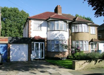 Thumbnail 3 bed semi-detached house to rent in Durley Avenue, Pinner