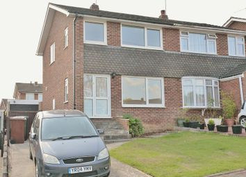 Thumbnail 3 bed semi-detached house for sale in Riley Drive, Banbury