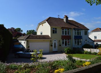 Thumbnail 3 bed semi-detached house for sale in Newton Road, Torquay