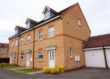Thumbnail 4 bed town house for sale in Loxdale Sidings, Bilston