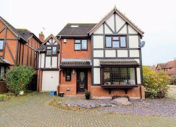 Thumbnail 5 bed detached house for sale in Berkshire Green, Shenley Brook End, Milton Keynes