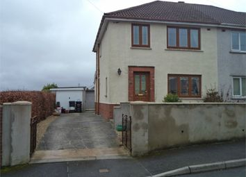 Thumbnail 3 bed semi-detached house for sale in Highlands Road, Beaufort, Ebbw Vale, Blaenau Gwent
