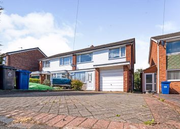 Thumbnail 3 bedroom semi-detached house for sale in Reindeer Road, Fazeley, Tamworth