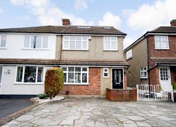 Thumbnail 4 bed semi-detached house for sale in Passingham Avenue, Billericay