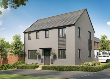 "Thumbnail 3 bed detached house for sale in ""The Clayton Corner"" at Church Road, Old St. Mellons, Cardiff"