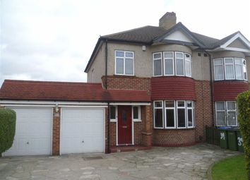 Thumbnail 3 bed semi-detached house to rent in Chapel Farm Road, Mottingham, London