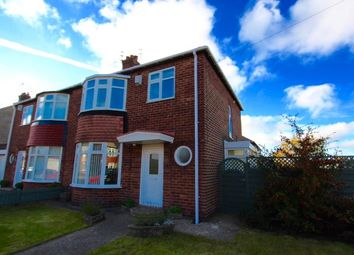 Thumbnail 3 bed semi-detached house to rent in Sandringham Drive, Whitley Bay
