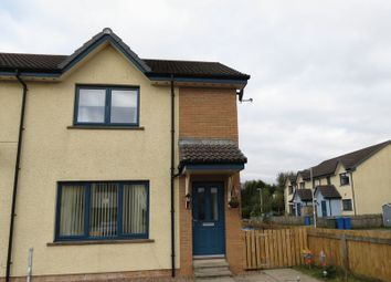 Thumbnail 2 bed semi-detached house for sale in Columba Court, Lochyside, Fort William