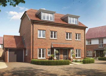 Thumbnail 3 bed semi-detached house for sale in Montague Place, Keens Lane, Guildford, Surrey