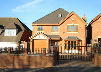 Thumbnail 5 bed detached house to rent in Newton Road, Great Barr, Birmingham