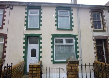Thumbnail 2 bed terraced house to rent in Wyndham Street, Ogmore Vale, Bridgend
