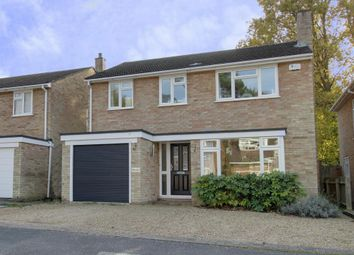Thumbnail 4 bed detached house to rent in George Road, Fleet