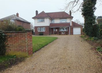 Thumbnail 4 bed detached house for sale in High Street, Bluntisham, Huntingdon