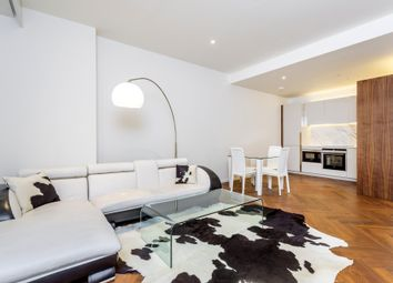 Thumbnail 1 bed flat for sale in Embassy Gardens, London