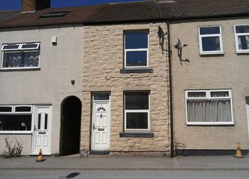 Thumbnail 2 bed terraced house to rent in Barlborough Road, Clowne, Chesterfield