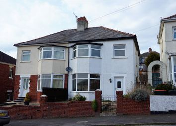 Thumbnail 3 bed semi-detached house for sale in Tennyson Road, Newport