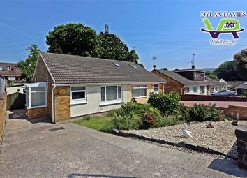 Thumbnail 2 bed semi-detached bungalow for sale in Underhill Drive, Tonteg, Pontypridd