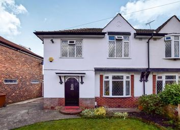 Thumbnail 3 bed semi-detached house for sale in Shakespeare Drive, Cheadle, Greater Manchester