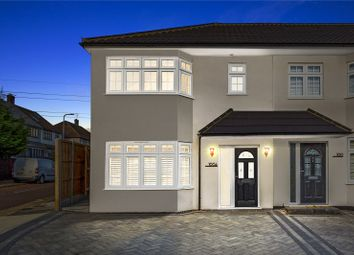 Thumbnail 3 bed semi-detached house for sale in Severn Drive, Upminster