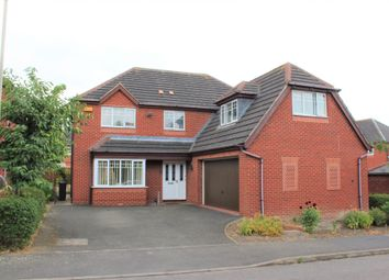 Thumbnail 5 bed detached house for sale in Little Dunmow Road Humberstone, Leicester