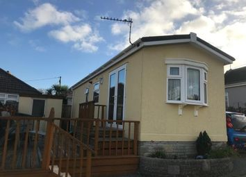 Thumbnail 1 bed mobile/park home for sale in Clodgey Lane, Helston, Cornwall