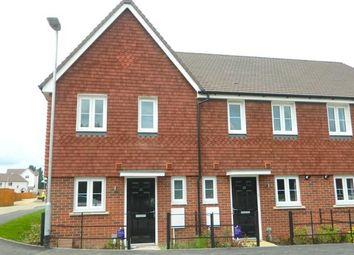 Thumbnail 2 bedroom end terrace house to rent in Shoebridge Drive, Maidstone, Kent
