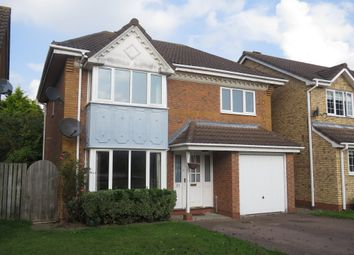 Thumbnail 4 bed detached house for sale in Oxford Close, Mildenhall, Bury St. Edmunds