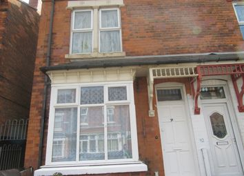 Thumbnail 3 bed terraced house to rent in Ellesmere Road, Birmingham