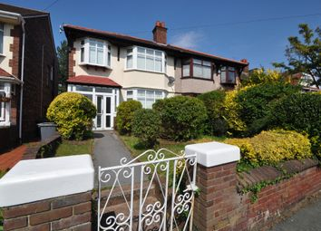 Thumbnail 3 bed semi-detached house for sale in St. Georges Park, New Brighton, Wallasey