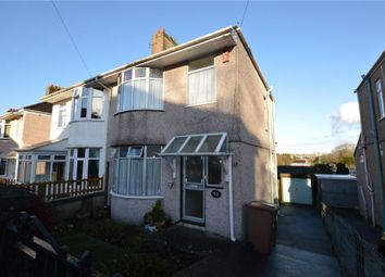 Thumbnail 3 bedroom semi-detached house for sale in Dovedale Road, Plymouth, Devon