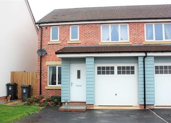 Thumbnail 3 bed semi-detached house for sale in Leonides Avenue, Haywood Village, Weston-Super-Mare, North Somerset.