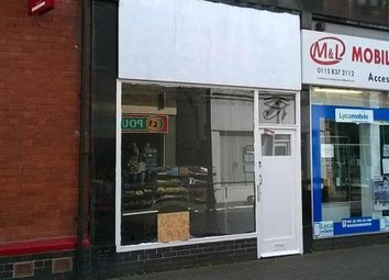 Thumbnail Retail premises to let in Long Eaton, 27 High Street, Nottingham, Derbyshire