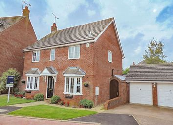 Thumbnail 4 bed detached house for sale in Parnell Close, West Haddon, Northamptonshire