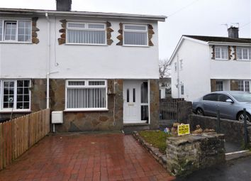 Thumbnail 3 bed end terrace house for sale in Taliesin Close, Pencoed, Bridgend.
