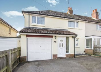 Thumbnail 4 bed semi-detached house for sale in Haskells Road, Poole, Dorset